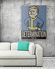 Картина на холсте BEGEMOT Fallout Галерейная натяжка 40x60 см (1110113), фото 2