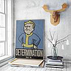 Картина на холсте BEGEMOT Fallout Галерейная натяжка 40x60 см (1110113), фото 3
