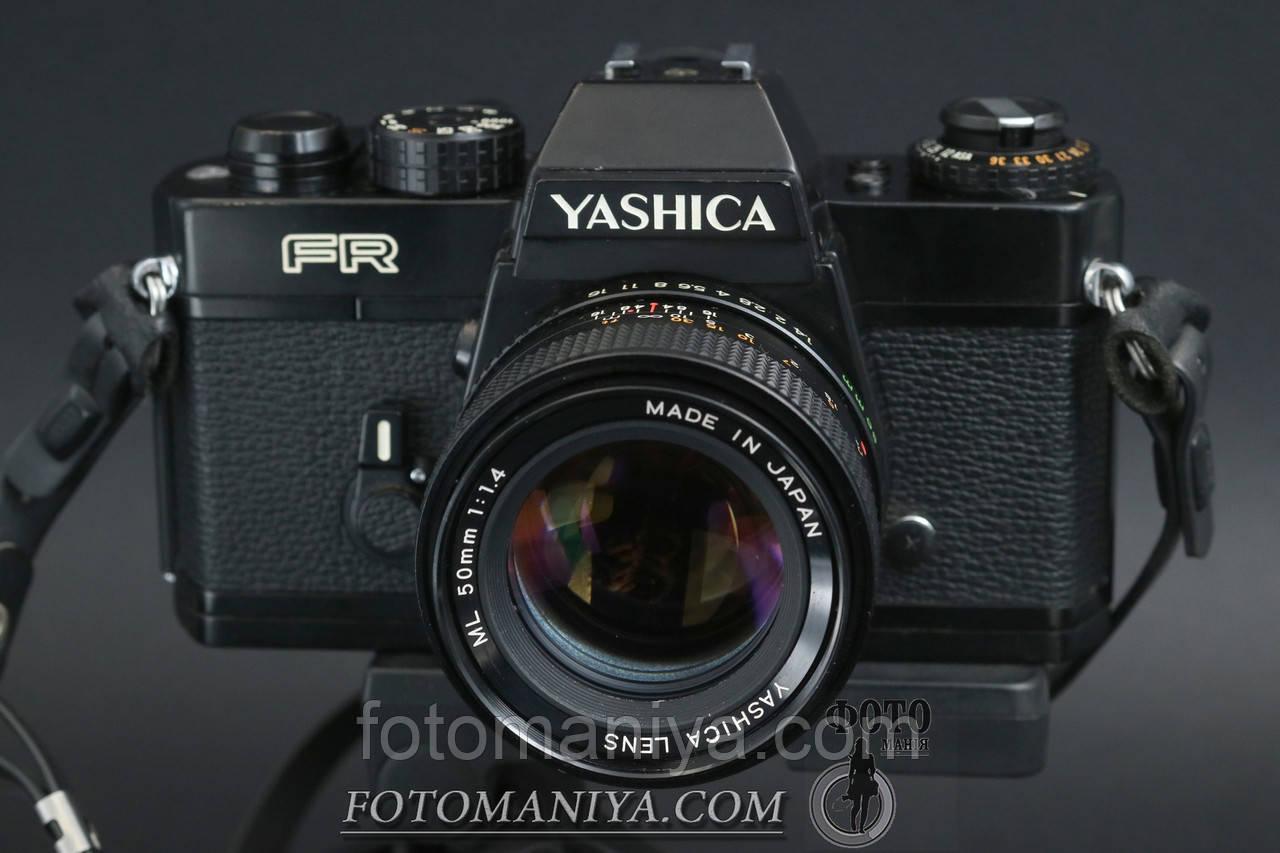 Yashica FR kit Yashica ML 50mm f1,4