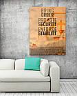 Картина на холсте BEGEMOT Fallout Галерейная натяжка 40x60 см (1110118), фото 2