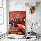 Картина на холсте BEGEMOT Fallout Галерейная натяжка 40x60 см (1110119), фото 3