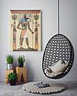 Картина на холсте BEGEMOT Древнеегипетский бог Анубис Галерейная натяжка 60х89 см (1110120), фото 4