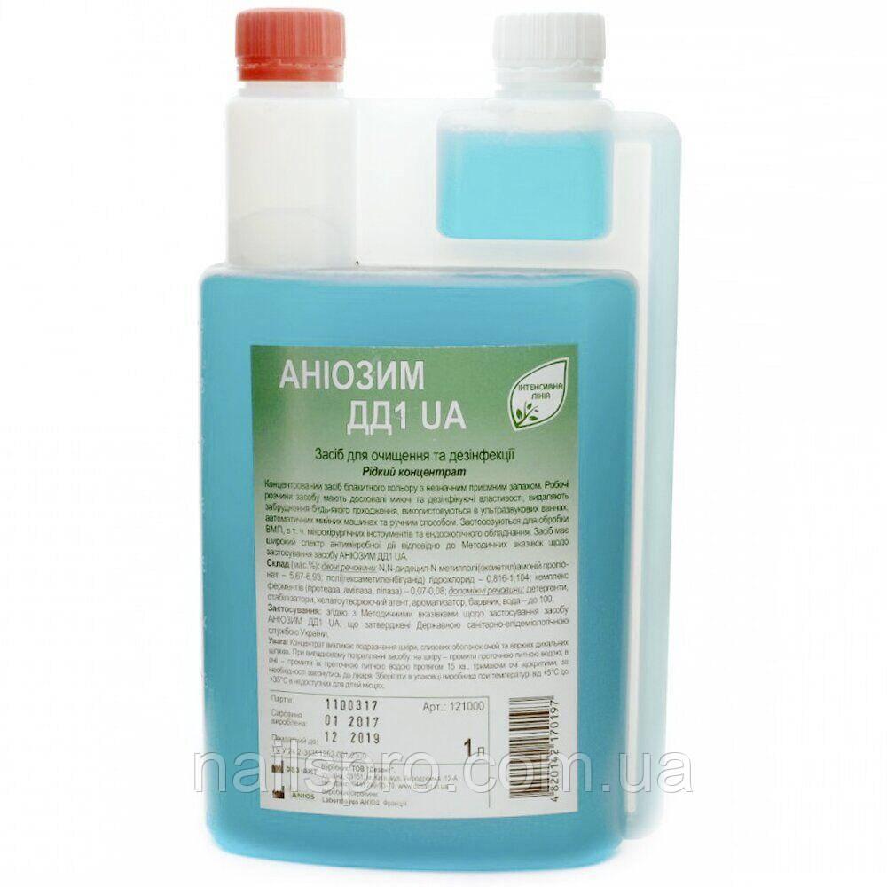 Аниозим ДД1 UA 1000 мл — концентрат для дезінфекції та стерилізації інструментів