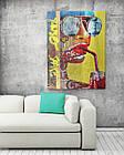 Картина на холсте BEGEMOT Pop-Art Девушки Галерейная натяжка 60х89 см (1110130), фото 2