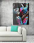 Картина на холсте BEGEMOT Pop-Art Девушки Галерейная натяжка 60х89 см (1110132), фото 2