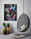 Картина на холсте BEGEMOT Pop-Art Девушки Галерейная натяжка 60х89 см (1110132), фото 4