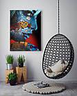 Картина на холсте BEGEMOT Pop-Art Девушки Галерейная натяжка 60х89 см (1110134), фото 4