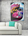 Картина на холсте BEGEMOT Pop-Art Девушки Галерейная натяжка 60х89 см (1110135), фото 2