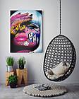 Картина на холсте BEGEMOT Pop-Art Девушки Галерейная натяжка 60х89 см (1110135), фото 4