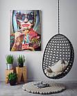 Картина на холсте BEGEMOT Pop-Art Девушки Галерейная натяжка 60х89 см (1110136), фото 4