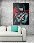 Картина на холсте BEGEMOT Pop-Art Девушки Галерейная натяжка 60х89 см (1110138), фото 2