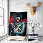 Картина на холсте BEGEMOT Pop-Art Девушки Галерейная натяжка 60х89 см (1110138), фото 3