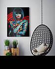 Картина на холсте BEGEMOT Pop-Art Девушки Галерейная натяжка 60х89 см (1110138), фото 4