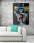 Картина на холсте BEGEMOT Pop-Art Девушки Галерейная натяжка 60х89 см (1110139), фото 2