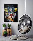 Картина на холсте BEGEMOT Pop-Art Девушки Галерейная натяжка 60х89 см (1110141), фото 4