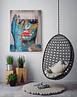 Картина на холсте BEGEMOT Pop-Art Девушки Галерейная натяжка 60х89 см (1110142), фото 4