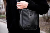 Мужская кожаная сумка через плечо Puma Rodster