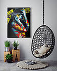 Картина на холсте BEGEMOT Pop-Art Девушки Галерейная натяжка 60х89 см (1110144), фото 4