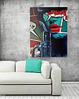 Картина на холсте BEGEMOT Pop-Art Девушки Галерейная натяжка 60х89 см (1110147), фото 2