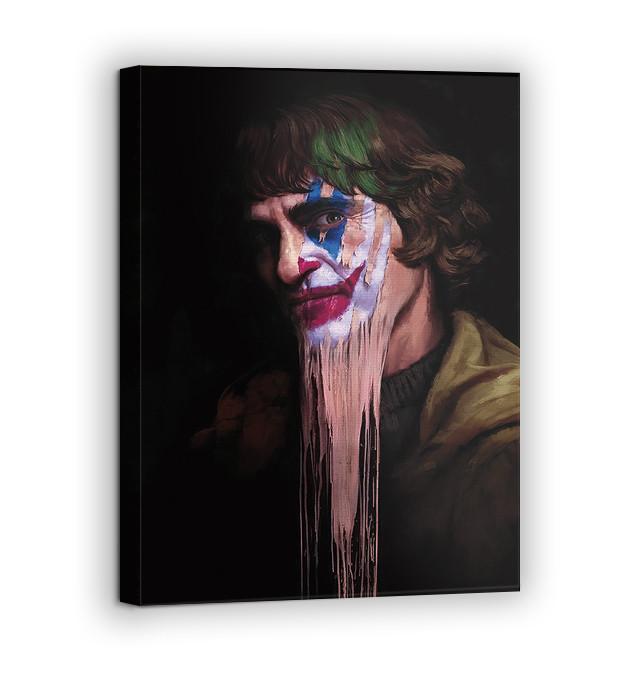 Картина на холсте BEGEMOT Джокер Галерейная натяжка 60х89 см (1110152)