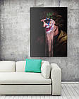 Картина на холсте BEGEMOT Джокер Галерейная натяжка 60х89 см (1110152), фото 2