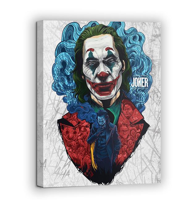 Картина на холсте BEGEMOT Джокер Галерейная натяжка 60х89 см (1110153)