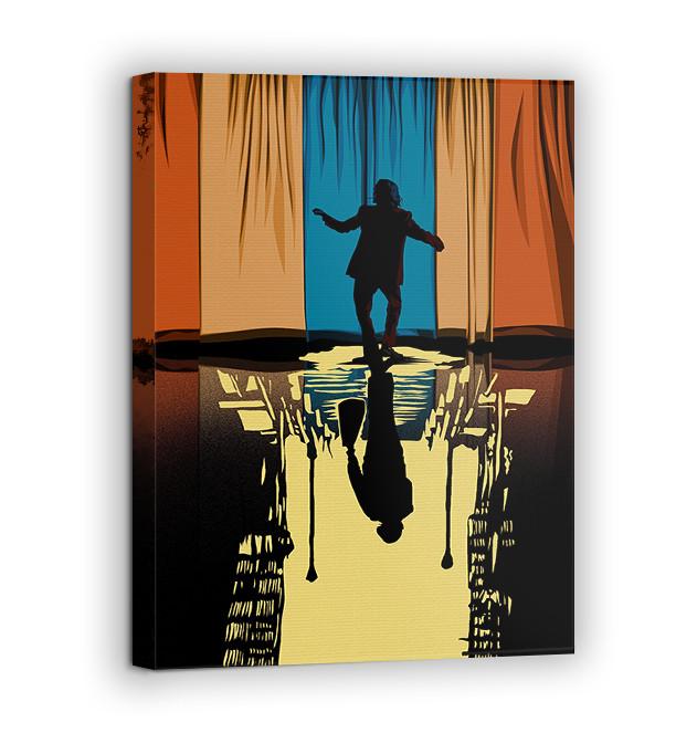 Картина на холсте BEGEMOT Джокер Галерейная натяжка 60х89 см (1110154)