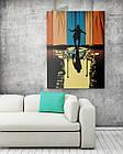 Картина на холсте BEGEMOT Джокер Галерейная натяжка 60х89 см (1110154), фото 2