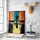 Картина на холсте BEGEMOT Джокер Галерейная натяжка 60х89 см (1110154), фото 3