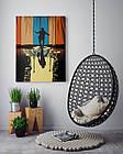 Картина на холсте BEGEMOT Джокер Галерейная натяжка 60х89 см (1110154), фото 4