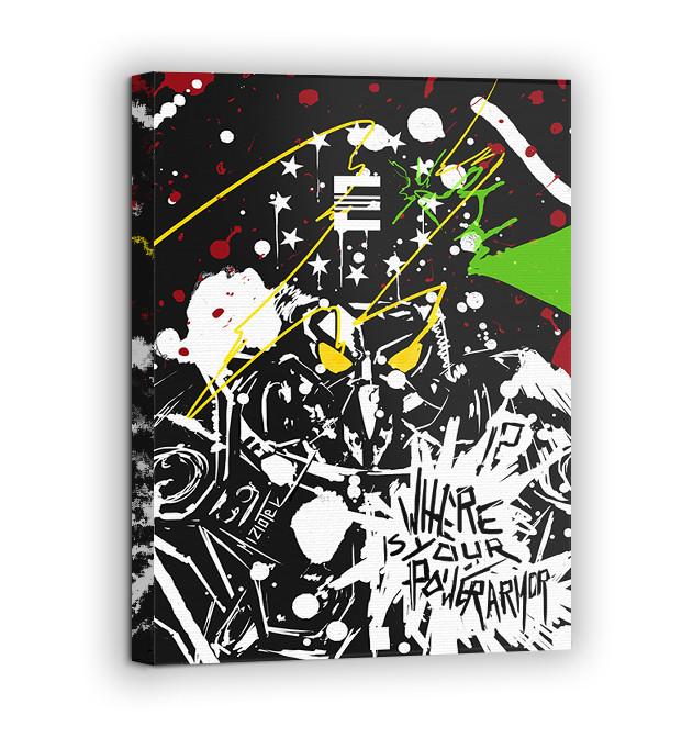 Картина на холсте BEGEMOT Fallout Галерейная натяжка 60х89 см (1110158)