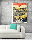 Картина на холсте BEGEMOT Fallout Галерейная натяжка 60х89 см (1110160), фото 2