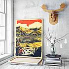 Картина на холсте BEGEMOT Fallout Галерейная натяжка 60х89 см (1110160), фото 3