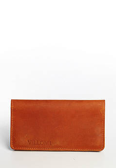 VM-Villomi Портмоне на магнитах коньячного цвета