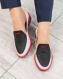 Гладкая кожа и флотар! Стильные кожаные туфли женские лоферы, фото 3