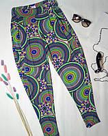 Женские цветные штаны