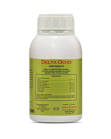 Delta 8 Ocho 0,5 л  комплексное удобрение на вегетативный период, фото 2