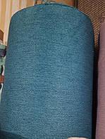 Флок  мебельная ткань ткань для перетяжки мягкой мебели кухонных уголков стульев сублимация 6018 бирюза