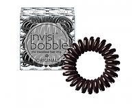 Резинки для волос INVISIBOBBLE из коллекции ORIGINAL Luscious Lashes черный металлик  3шт/уп