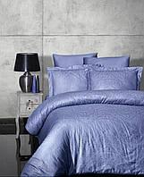 Комплект постельного белья Jacquard Satin Siray S.Indigo First Choice Семейный размер