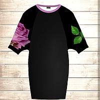 Умное платье с 3D принтом Fantasy Rose