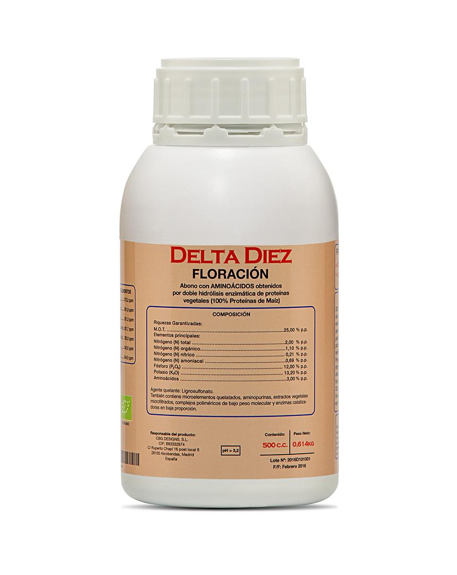 Delta 10 Diez 0,5 л комплексное удобрение для стадии цветения