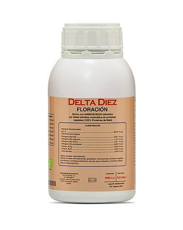 Delta 10 Diez 0,5 л комплексное удобрение для стадии цветения, фото 2