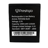 Аккумулятор Prestigio  PSP3459 для Wize OX3 DUO 1550mAh