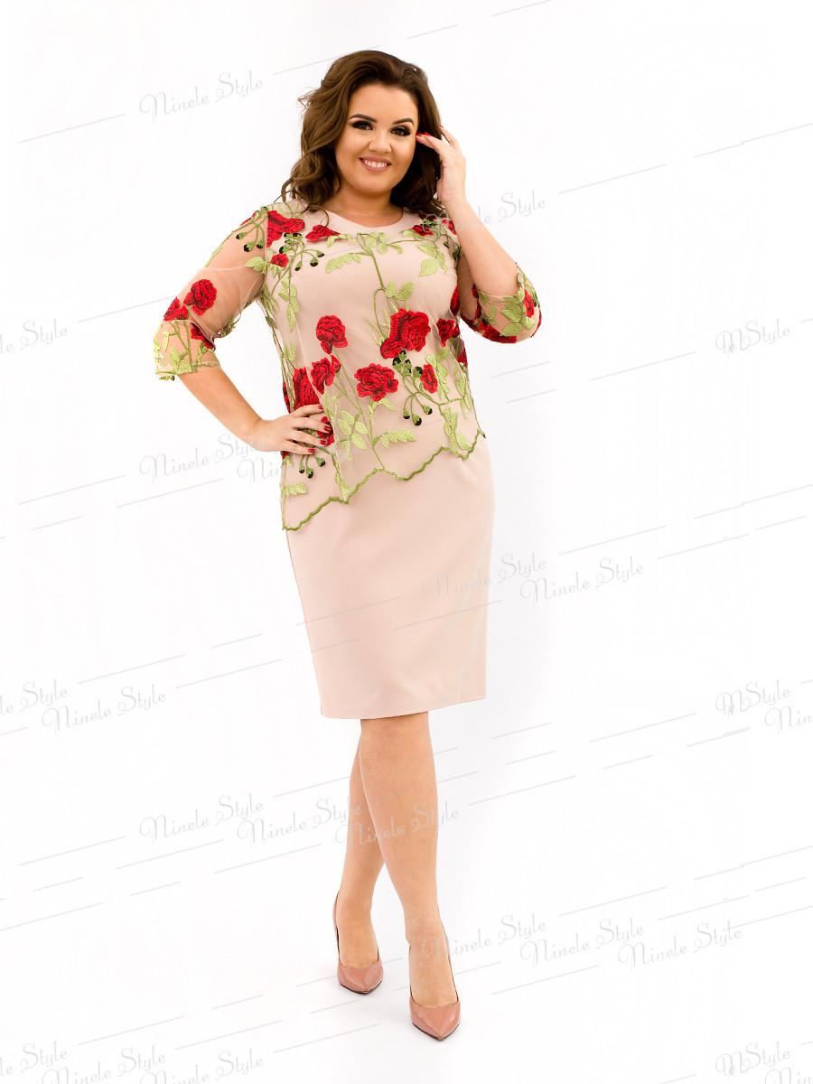 Платье женское модель 326-6 54