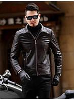 Куртка шкіряна молодіжна з натуральної шкіри.