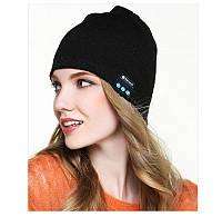 Портативная колонка ШАПКА с bluetooth наушниками SPS Hat BT True, Цвет Чёрный