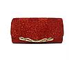 Жіноча сумка-клатч червона. (К510)