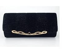 Женская сумка-клатч черная. (К511), фото 1