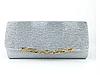 Женская сумка-клатч серая. (К515)